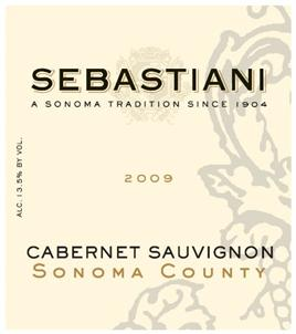 Sebastiani Vineyards & Winery Cabernet Sauvignon Sonoma County
